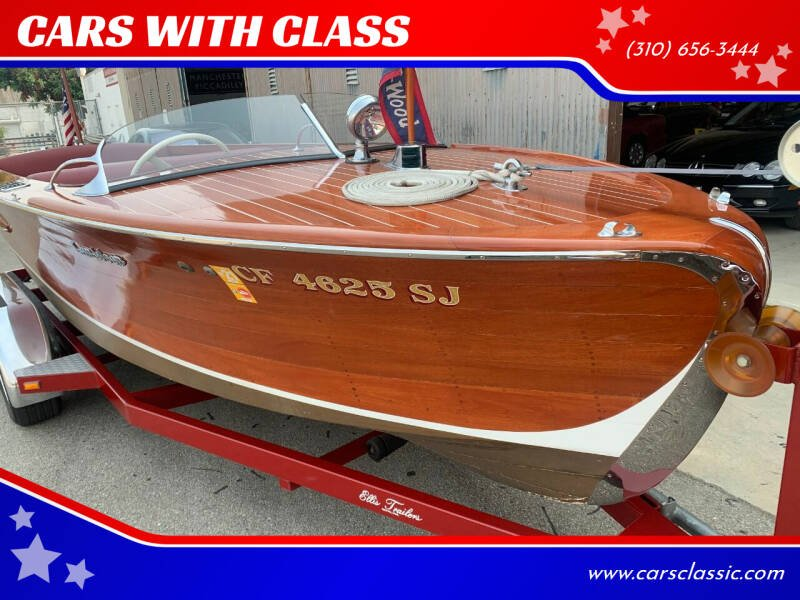 1946 Gar Wood 18.5 Runabout for sale at CARS WITH CLASS in Santa Monica CA