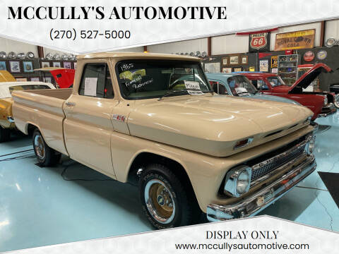 1965 Chevrolet C/K 1500 Series for sale at McCully's Automotive in Benton KY