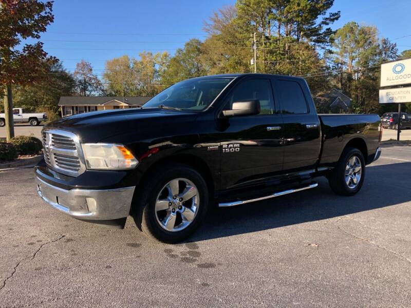 2013 RAM Ram Pickup 1500 for sale at GTO United Auto Sales LLC in Lawrenceville GA