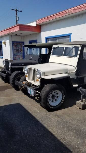 1959 Jeep Willys for sale at KNAPP AUTO in Lost River  (Moore) ID