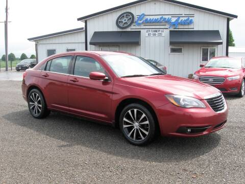 2013 Chrysler 200 for sale at Country Auto in Huntsville OH