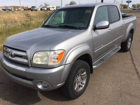 2006 Toyota Tundra for sale at G & B  Motors in Havre MT