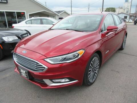 2017 Ford Fusion Hybrid for sale at Dam Auto Sales in Sioux City IA