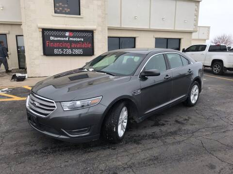 2015 Ford Taurus for sale at Diamond Motors in Pecatonica IL