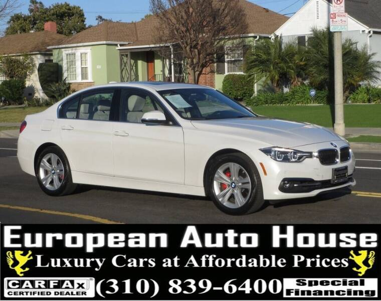 2017 BMW 3 Series for sale at European Auto House in Los Angeles CA