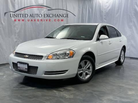 2012 Chevrolet Impala for sale at United Auto Exchange in Addison IL