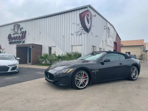 2016 Maserati GranTurismo for sale at Barrett Auto Gallery in San Juan TX
