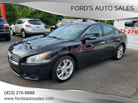 2012 Nissan Maxima for sale at Ford's Auto Sales in Kingsport TN