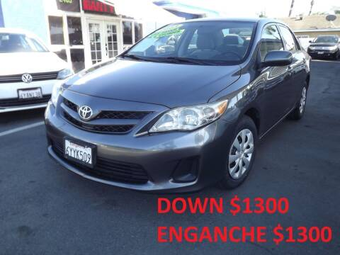 2013 Toyota Corolla for sale at PACIFICO AUTO SALES in Santa Ana CA
