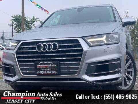 2018 Audi Q7 for sale at CHAMPION AUTO SALES OF JERSEY CITY in Jersey City NJ