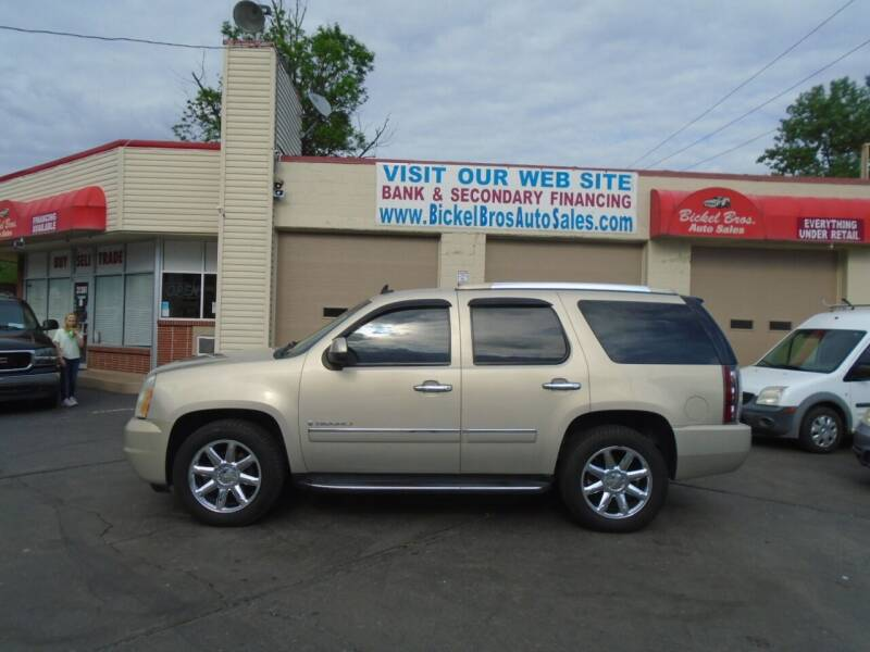 2009 GMC Yukon for sale at Bickel Bros Auto Sales, Inc in Louisville KY