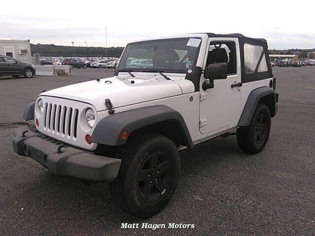 2012 Jeep Wrangler for sale at Matt Hagen Motors in Newport NC