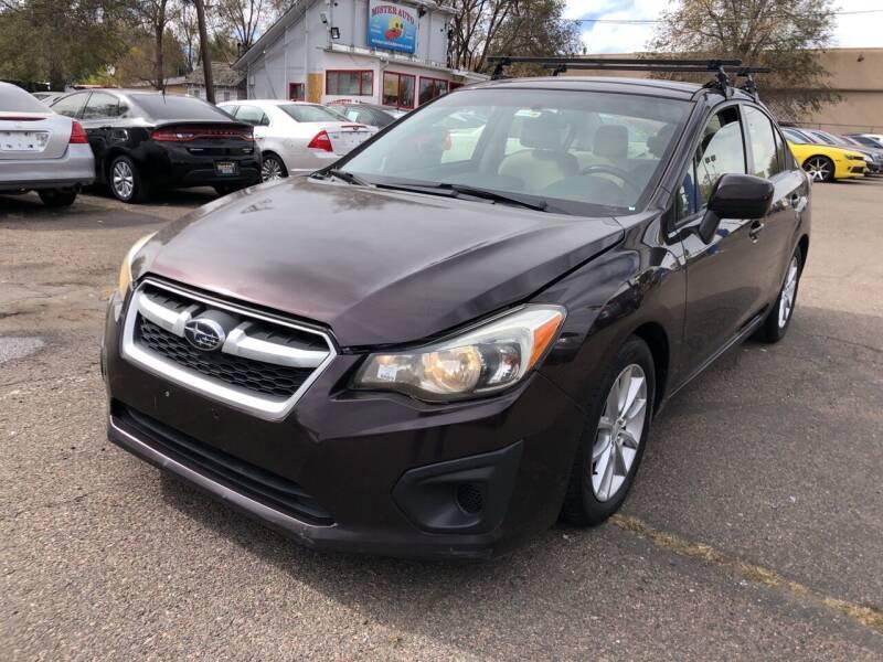 2013 Subaru Impreza for sale at Mister Auto in Lakewood CO