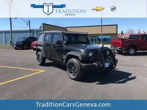 2015 Jeep Wrangler Unlimited for sale at Tradition Chevrolet Buick in Geneva NY