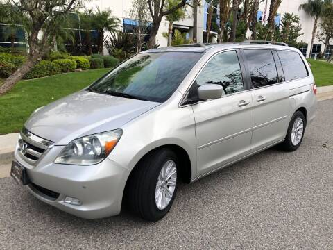 2005 Honda Odyssey for sale at Donada  Group Inc in Arleta CA