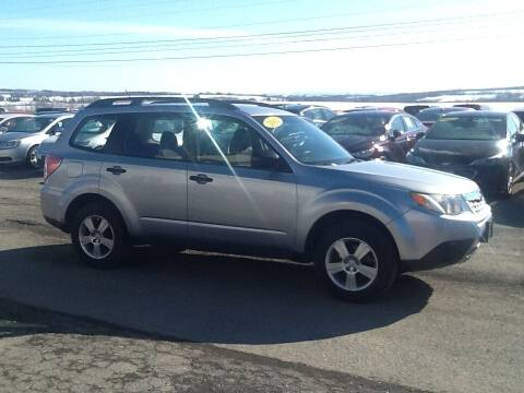 2013 Subaru Forester for sale at Garys Sales & SVC in Caribou ME