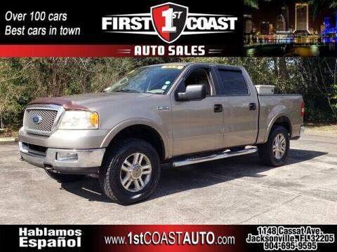 2005 Ford F-150 for sale at 1st Coast Auto -Cassat Avenue in Jacksonville FL
