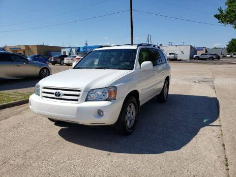 2007 Toyota Highlander for sale at Image Auto Sales in Dallas TX