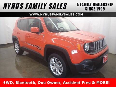 2017 Jeep Renegade for sale at Nyhus Family Sales in Perham MN