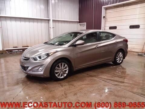 2014 Hyundai Elantra for sale at East Coast Auto Source Inc. in Bedford VA