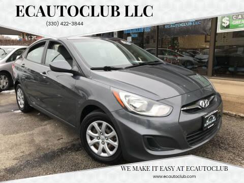 2012 Hyundai Accent for sale at ECAUTOCLUB LLC in Kent OH