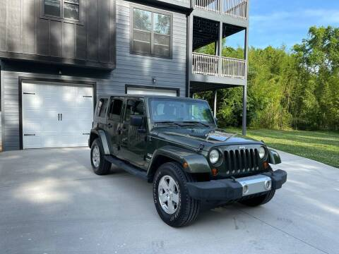 2008 Jeep Wrangler Unlimited for sale at CarUnder10k in Dayton TN