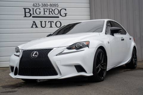 2015 Lexus IS 250 for sale at Big Frog Auto in Cleveland TN