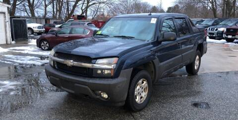 2005 Chevrolet Avalanche for sale at Barga Motors in Tewksbury MA