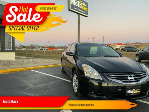 2010 Nissan Altima for sale at MotoMaxx in Spring Lake Park MN