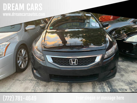 2010 Honda Accord for sale at DREAM CARS in Stuart FL