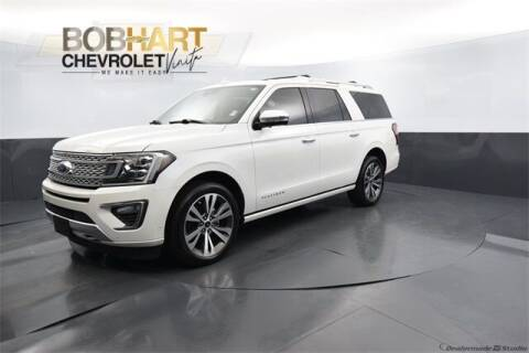 2020 Ford Expedition MAX for sale at BOB HART CHEVROLET in Vinita OK