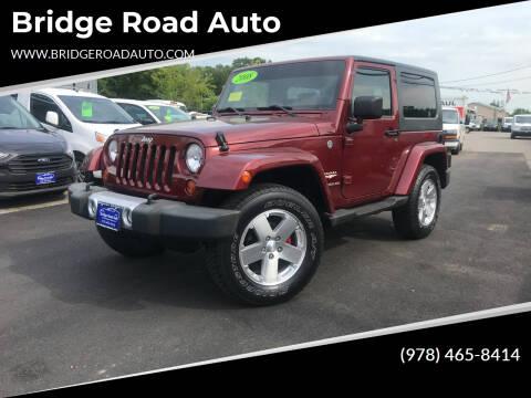 2008 Jeep Wrangler for sale at Bridge Road Auto in Salisbury MA