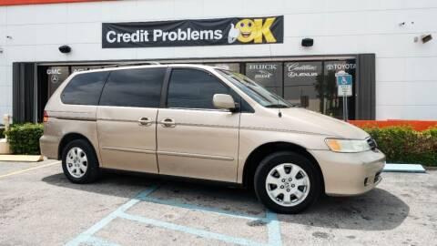 2002 Honda Odyssey for sale at Car Depot in Miramar FL