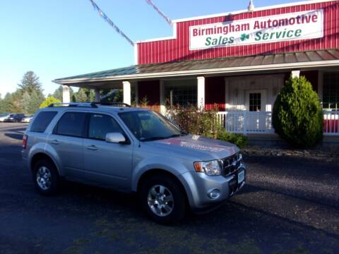 2012 Ford Escape for sale at Birmingham Automotive in Birmingham OH