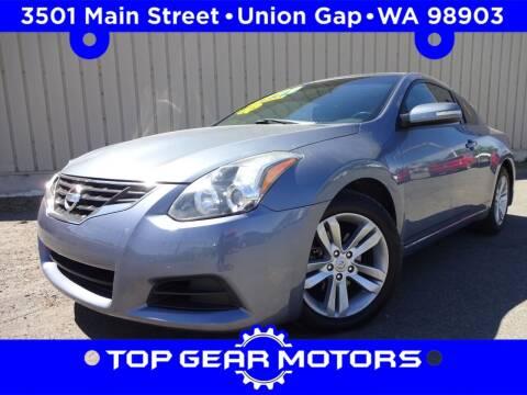 2010 Nissan Altima for sale at Top Gear Motors in Union Gap WA
