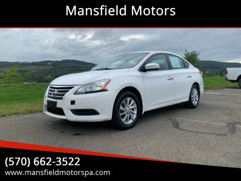 2013 Nissan Sentra for sale at Mansfield Motors in Mansfield PA