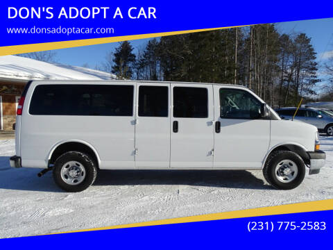 2020 Chevrolet Express Passenger for sale at DON'S ADOPT A CAR in Cadillac MI