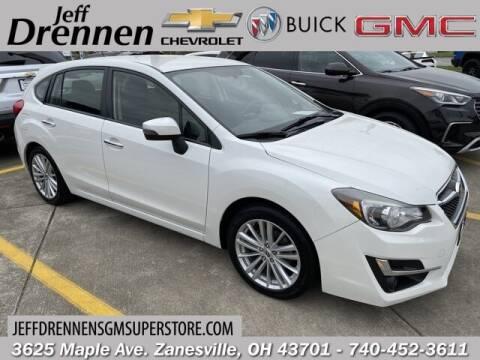 2015 Subaru Impreza for sale at Jeff Drennen GM Superstore in Zanesville OH