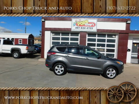 2013 Ford Escape for sale at Porks Chop Truck and Auto in Cheyenne WY