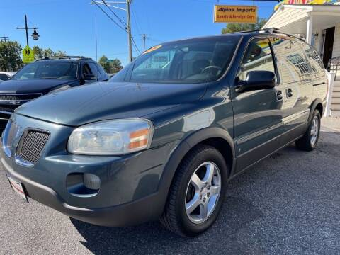 2006 Pontiac Montana SV6 for sale at Alpina Imports in Essex MD