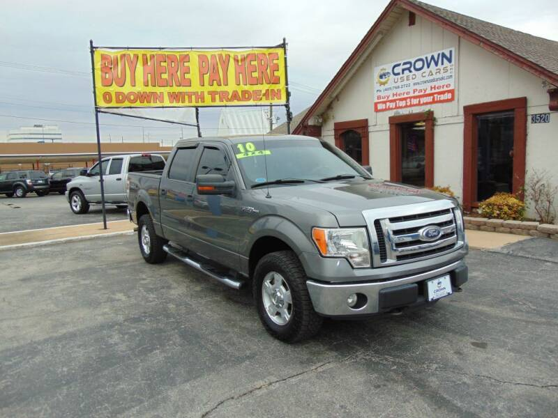 2010 Ford F-150 for sale at Crown Used Cars in Oklahoma City OK