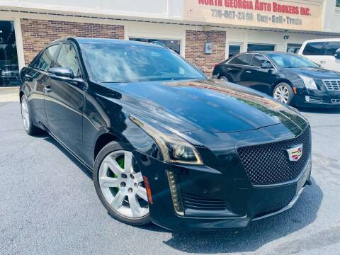 2015 Cadillac CTS for sale at North Georgia Auto Brokers in Snellville GA