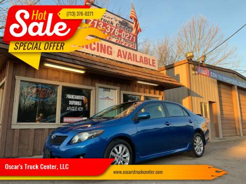 2009 Toyota Corolla for sale at Oscar's Truck Center, LLC in Houston TX