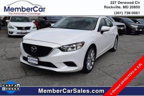 2015 Mazda MAZDA6 for sale at MemberCar in Rockville MD