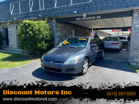 2003 Honda Accord for sale at Discount Motors Inc in Old Hickory TN