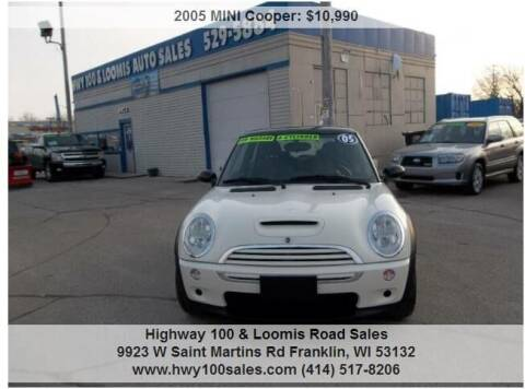 2005 MINI Cooper for sale at Highway 100 & Loomis Road Sales in Franklin WI