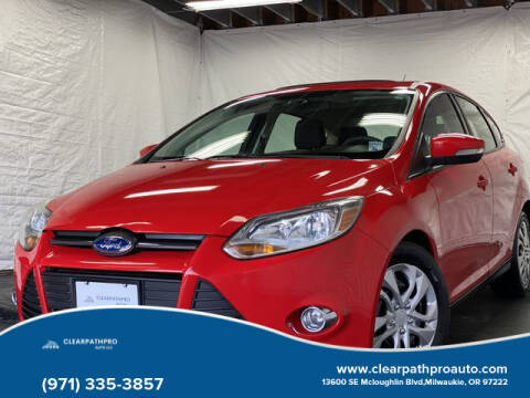 2012 Ford Focus for sale at CLEARPATHPRO AUTO in Milwaukie OR