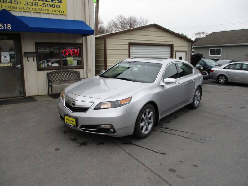 2012 Acura TL for sale at TRI-STAR AUTO SALES in Kingston NY