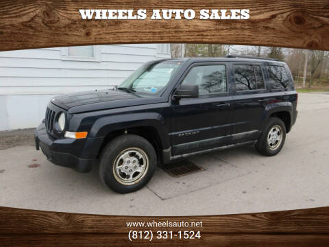 2011 Jeep Patriot for sale at Wheels Auto Sales in Bloomington IN