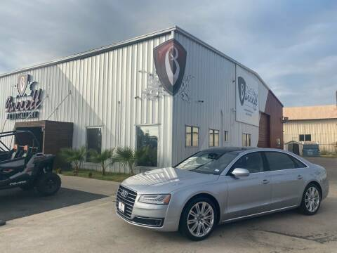 2016 Audi A8 L for sale at Barrett Auto Gallery in San Juan TX